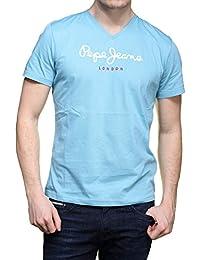 Pepe Jeans - T Shirt Pm501389 Eggo V 546 Ciel
