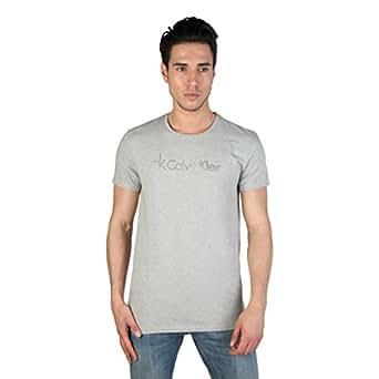 T-shirt homme Calvin Klein - Gris