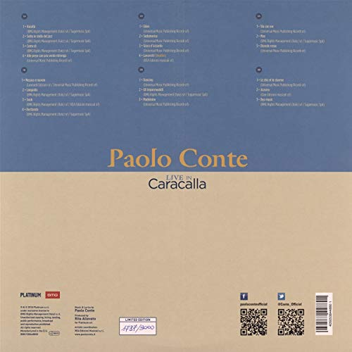 Live In Caracalla - 50 Years Of Azzurro [Vinyl]