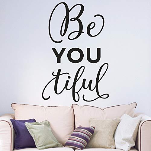 Inspirierende Zitate Motto Jugendliche Schlafzimmer ArbeitszimmerVinyl Wandkunst Aufkleber Aufkleber ~ 1 78 * 118 cm -
