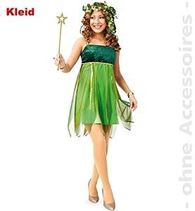 Party-Chic-Disfraz de Elfo Lauriel para Mujer, Talla 34, Color Verde, (Fritz Fries & Söhne GmbH 12180)