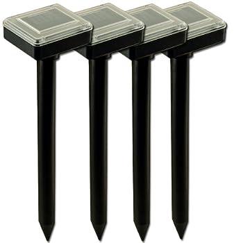 4 x Chasse Taupe Solaire - Simple et Efficace - Son et Vibration