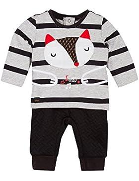 Catimini Baby-Jungen Bekleidungsset Ensemble T-Shirt Manches Longues + Bas Pour Bébé Garçon, Grau (China Grey...