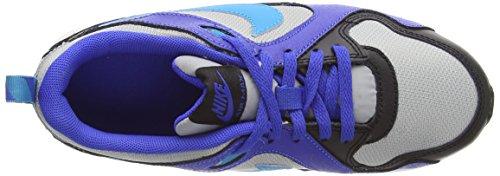 Nike Air Max Trax (Ps), Baskets Basses Mixte Enfant Bleu (mtllc Silver/bl Lgn-lyn Bl-blk 008)