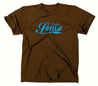 Soma T-Shirt, Brave New World, Le Meilleur des mondes, Aldous Huxley, L, braun