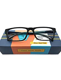 Silvercare Blue Ray Cut Uv 400 Anti-Reflection Spectacle For Both Men And Women|50Mm|