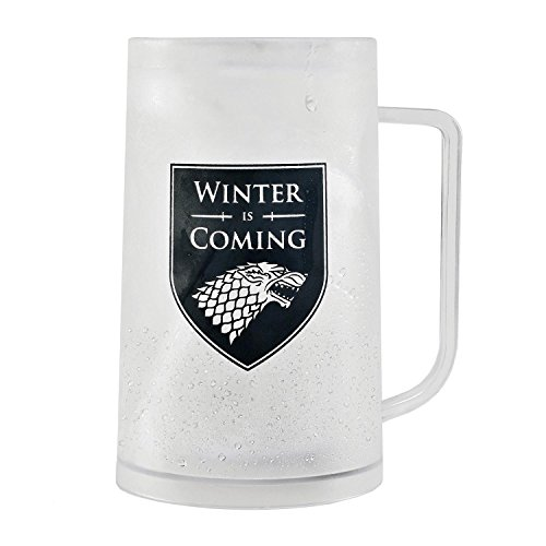 Jarra de Cerveza Game Of Thrones - Freezable Tankard Winter is Coming/Stark