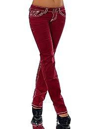 Diva-Jeans - Jeans - Bootcut - Uni - Femme