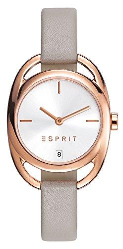 Esprit Damen-Armbanduhr Sarah Analog Quarz Leder ES108182003