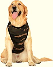 Doxters Cotton T Shirts For Large Dogs- Army Camouflage Print, Size 26