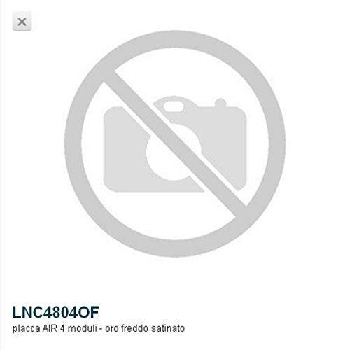 Bticino Livinglight lnc4804of���ll-placa Air 4�m oro