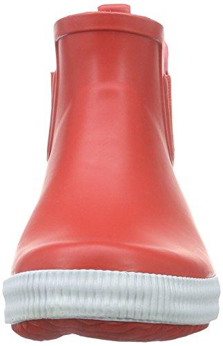 Ice Peak Widald, Bottes en caoutchouc de hauteur moyenne, non doublées femme Rouge - Rot (646 coral-red)