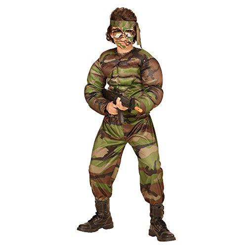 Disfraz de soldado musculoso para niño - 11-13 años