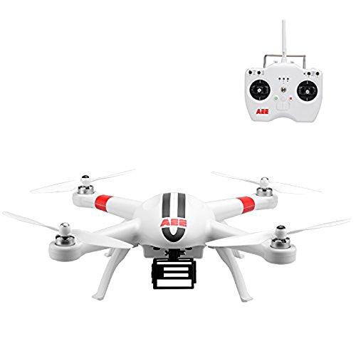 AEE AP9 Drone Quadricottero, Alte Prestazioni, GPS, Supporto Telecamere GoPro