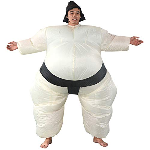 Zhanghaidong Aufblasbare Sumo Wrestler Kostüm Kinder Erwachsene Halloween Sumo Inflatables Japanische Bushido Sumo Inflatables