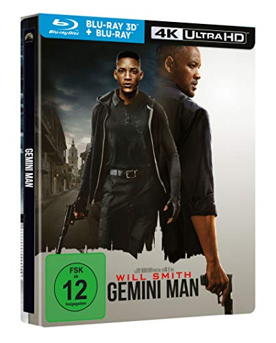 Gemini Man - 3D Blu-ray - Bluray - UHD - Steelbook