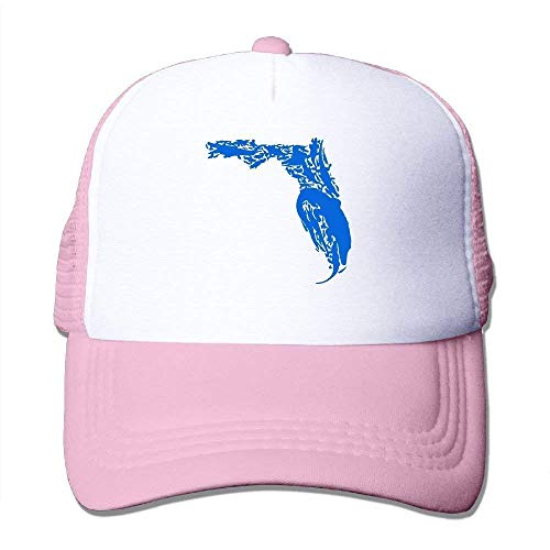 (Hipiyoled Florida Gator Men Women Adjustable Snapback Hüte Dad Hüte | Baseball Caps Mesh Back 30005)