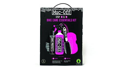 Muc-Off MUC936 Fahrrad Essentials Kit, Mehrfarbig, Standard