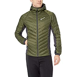 Berghaus Men's Tephra Stretch Reflect Down Jacket, Deep Depths/Carbon, Large