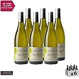 Petit Chablis Blanc 2017 - Domaine Jolly - Vin AOC Blanc de Bourgogne - Cépage Chardonnay - Lot de 6x75cl - 86/100 Gilbert et Gaillard