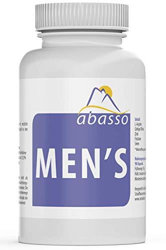 abasso Men's/Testosteron, Sperma, Fruchtbarkeit & Spaß / 90 Kapseln - Therapie Salz Natürliche