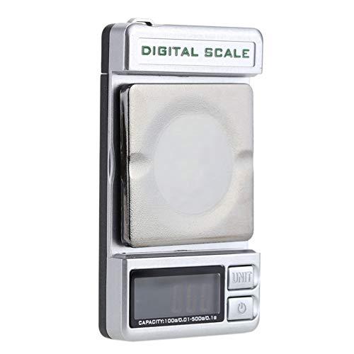 Digitale Waage mit LCD-Display, Stylus Gram, elektronisch, Dual-Verwendung, Mini-Hintergrundbeleuchtung, für Schmuck, Gewicht, Taschengewicht, tragbare Waage, Wie abgebildet, Free Size -