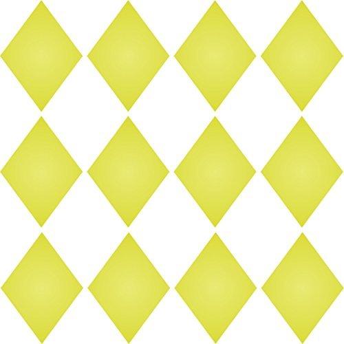 hablone Wiederverwendbare Schablonen für Malerei-Beste Qualität Scrapbooking Wall Art Decor Ideen-Verwendung auf Wände, Böden, Stoffe, Glas, Holz, Plakate, und mehr... m ()