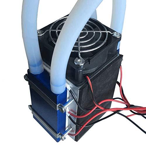 Jasnyfall Peltier-Kühl 12V 576W 4-Chip DIY Thermoelektrische Kühlbox,Schwarz
