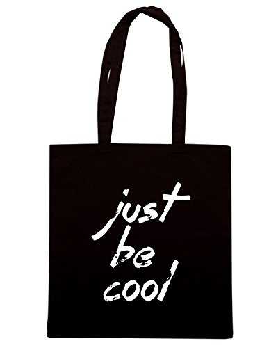 T-Shirtshock - Borsa Shopping ENJOY0118 just be cool Nero