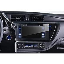 LFOTPP Toyota Auris Touring Sports Navegación Protector de pantalla - 9H Cristal Vidrio Templado GPS Navi