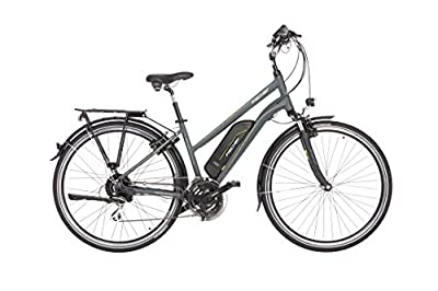 Fischer Damen Etd 1806 E-Bike, Anthrazit Matt, 28""