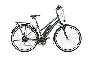 Fischer Damen ETD 1806 E-Bike, anthrazit matt, 28