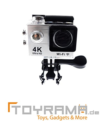 4K Action-Cam mit UHD-Funktion - Silber