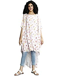 Rheson Women's High Low Mixed Mithai Top