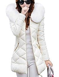 low priced 2ab23 df179 Amazon.it: piumino bianco lungo - Donna: Abbigliamento