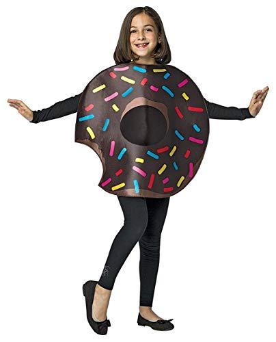Chocolate Donut w/ Bite Child Costume