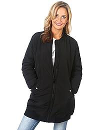 KRISP® Damen Warmer Gefütterter Bomber Mantel