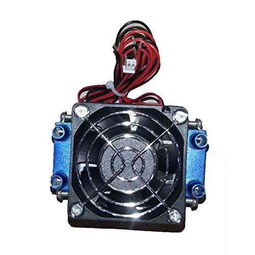 qiangzhongzhedianzichanpin Peltier-Kühl 12V 576W 4-Chip DIY Thermoelektrische Kühlbox