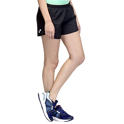 Reebok Damen  Essentials 4 Shorts Schwarz