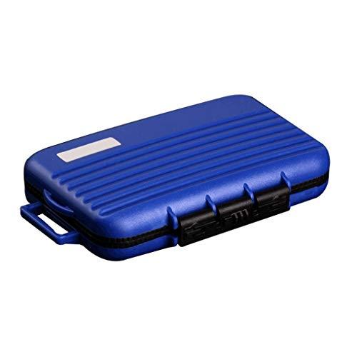 meisijia 24 sous Slots Carte mémoire Portable ABS Boîtier étanche TF Carte CF SD Porte boîte de Rangement Sac