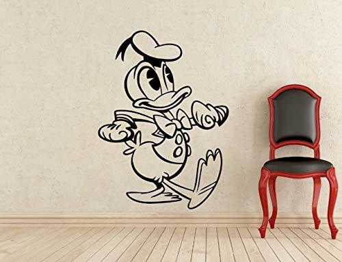 wandaufkleber 3d Wandtattoo Schlafzimmer Kreative New Donald Duck Neffe Kostüm Kids Name Baby Wandaufkleber für Kinderzimmer nach - Familie Duck Kostüm