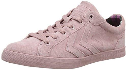 Hummel Hummel Deuce Court Womens Lo, Baskets Basses femme Rose - Pink (Pink 3030)