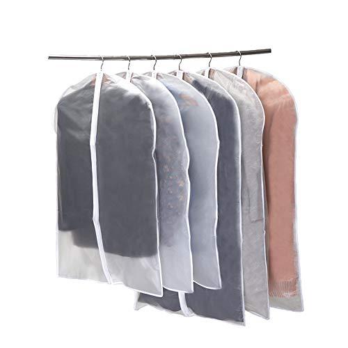 Niviy Kleidersack 6 Stücke Transparent Kleidersäcke 120 x 60 cm + 100 x 60 cm, Atmungsaktiver...