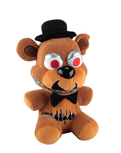 Five Nights At Freddys - Freddy Fazbear Nightmare Plush - 15cm 6""
