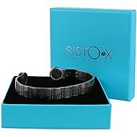 Super Starke Armreif magnetisch Dollar Design Zinn-Finish von sisto-x ® Kupfer Armband 6Magnete Gesundheit Rare... preisvergleich bei billige-tabletten.eu