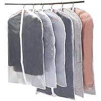 Niviy Cubiertas de la Ropa Protectores Claros de la Cremallera Para Los Juegos de la Camisa /Capas,Transpirable Fundas de Vestido,3pcs los 60 * 100cm,3pcs los 60 * 120cm