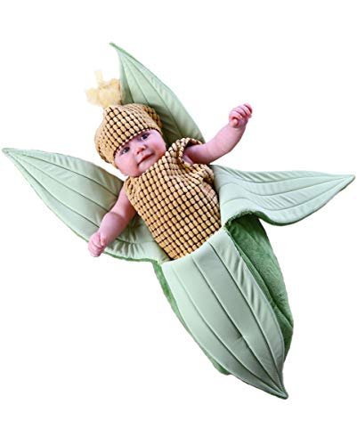 Horror-Shop Süßes Maiskolben Babykostüm für Karneval & Fasching 0-3 (Maiskolben Kostüm)