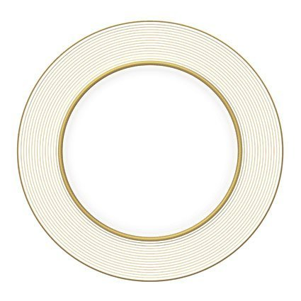 monique-lhuillier-china-ruban-dor-accent-plate-stripes-9-by-monique-lhuillier