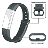 Iloft® Silicone Replacement Band for Fitbit Alta HR and Alta (Classic)