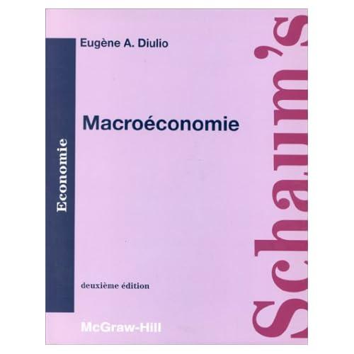MACROECONOMIE. Cours et problèmes, 2ème édition